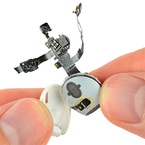 iFixit's tear down of the tiny Apple AirPods
