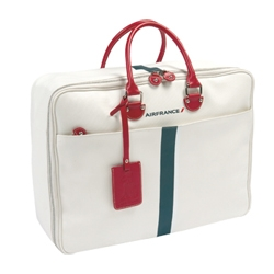 Cute travel bag created by Jack Russell Malletier Paris for Air France.