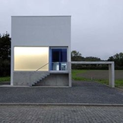 JaG's House by MATADOR atelier d'architecture is stunning in it's minimalist simplicity and beauty.