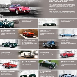Jaguar Heritage Driving Experience gives you the chance to drive some of the brand's most iconic models.