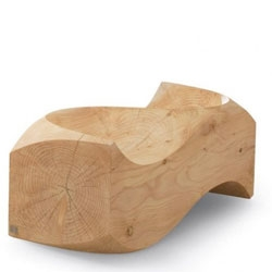 Imperfectly perfect, we love this 'Loveseat' by London-based designer Jake Phipps.