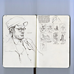 Sketchbook by James Jean.