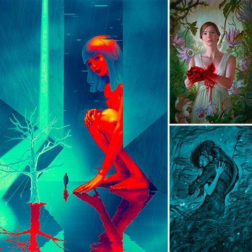 BOOOOOOOM: An Interview with James Jean — Creating Posters for Blade Runner 2049 and the Year's Most Anticipated Films. (I can't believe his sudden foray into movie posters were all a coincidence!)