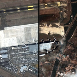Before and After Rollovers ~ Japan Tsunami ~ developed by Andrew Kesper for ABC News using Google