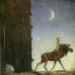Inspiring work of John Bauer Swedish Illustrator (1882–1918)