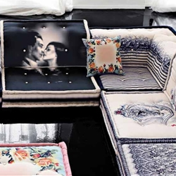Jean Paul Gaultier's collaboration with Roche Bobois.