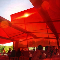 French architect Jean Nouvel will design this year's (2010) Serpentine Gallery Pavilion!