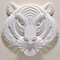 "Jeff Nishinaka is declared ""Paper Genius"" by The Coolhunter. Check out more of his intricate paper art"