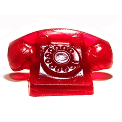 "How do you answer a phone made entirely out of gelatin? ""Jell-O? JELLLL-OOOOO!?"" Dustin Black brings you an animated .gif of the ringing Jell-O phone."