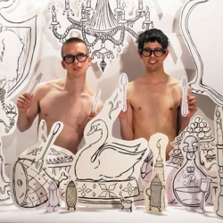 A great chat with Bompas and Parr, the English duo who make amazing creations out of jelly.