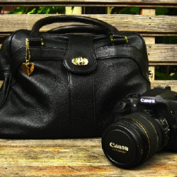 My quest to find the perfect chic camera bag is over.  Introducing the Jenny Yuen Hitchcock!