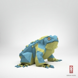Jeremy Kool creates amazing origami animals that look very realistic.
