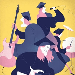 Fun illustration work by Jesse Lefkowitz.