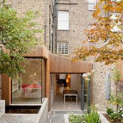 Jewel House in Islington by by Fraher Architects.