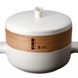 Steaming food has been an integral part of Chinese cooking for hundreds of years. Office for Product Design have reinterpreted the classic Chinese steamer giving it a modern functional twist.