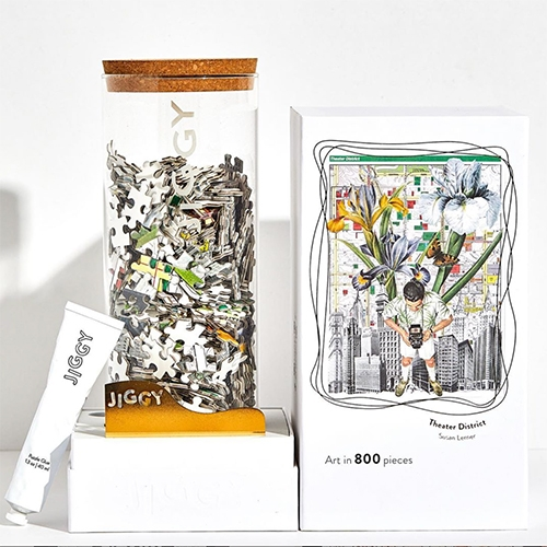 Jiggy Puzzles - the packaging!
