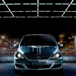 "Mercedes-Benz's new magazine ""Technicity"" features the new emission-free Mercedes-Benz B-Class F-CELL car. Joel Micah Miller shot the cover and feature story in Berlin."
