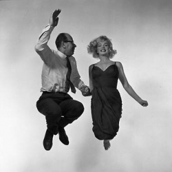 Discover jumpology at an exhibition of nearly 50 jumps Philippe Halsman captured on film from the late 1940s through the '50s  can be seen at the Laurence Miller Gallery at 20 West 57th Street in Manhattan, through Friday.