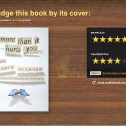 Judgeby.com turns snap judgements about book covers into a little game.