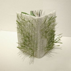 "Seeds planted into the cover of this book make it into a real ""Jungle Book"". Nice idea, though I wonder how you water it?"
