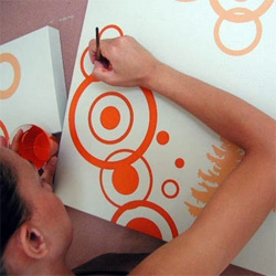 its always fun to see the process.  see how freddi c. makes circles!