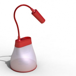 K8 green concept: solar lamp and charger for cellphones for those two billion people in the world living off the grid.