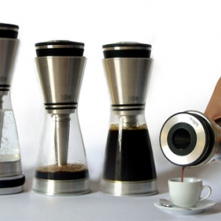 Kahva Coffee Maker CONCEPT by designer Lina Fischer. Great design -  I wonder how bad the clean-up would be though. No doubt it would be worth it if its brew tastes anything like the siphon filtered kind.