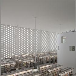 Beautiful Kanazawa Umimirai Library by Coelacanth K&H Architects.