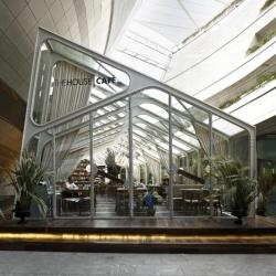Turkish design firm Autoban, have completed the design of another location for The House Café, located in the Kanyon Shopping Mall in Istanbul, Turkey.