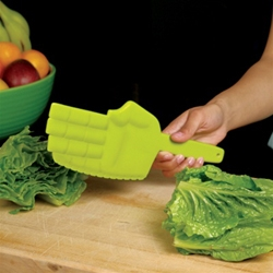 GAMAGO's new Karate Chopper Lettuce Knife brings the dojo to your kitchen.