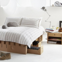 Paperpedic Bed by Karton Group Lzion.