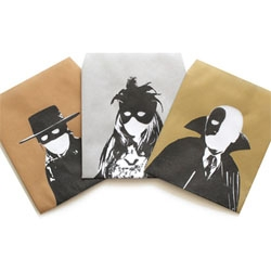 The Mask of Noguchi, Madam Ichiyo, and Phantom Yukichi, Kasou Pochi Bukuro, envelopes for money.