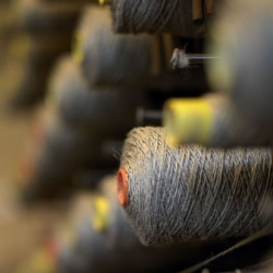 A stunning look behind the scenes of Kasthall's Swedish rug mill.