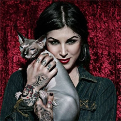 """The best damn Kat Von D  interview ever!  Some real """"touchy"""" subjects covered here..."""