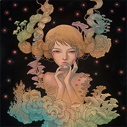 """Audrey Kawasaki """"Offering"""" Print is coming up for sale!"""
