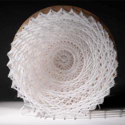 Mesmerizing work from textile designer Kaylee Hibbert.