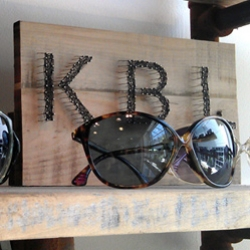 KBL Eyewear ~ fell in love with a few of their sunglasses at Alexander Gray. Fun to see their inspiration for collections like sea glass and guitars!