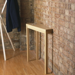 Keith's Console is a wall table by Richard Shed.