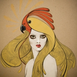 Beautiful work from NZ Fashion Photographer and Illustrator Kelly Thompson