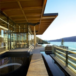 The stunning Kelowna House designed by David Tyrell.