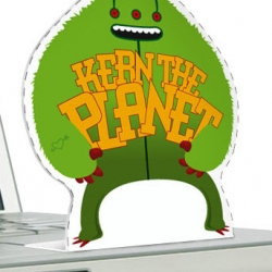 Kern the planet printable monster! And other summer-fun goodies for typography & design dorks from VEER!