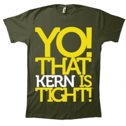 YO! That KERN is Tight!  Clever typography tee...