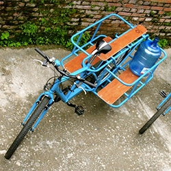 Portal Bikes of Nepal introduced the Bicycle PTO (Power Take Off) which converts a bicycle into a pedal powered machine. Join them on a mission to help people create pathways out of poverty in Nepal and around the world!