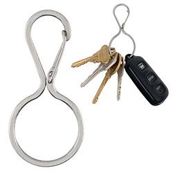 Nite Ize Infini-Key carabiner key ring ~ nice, clean, elegant design