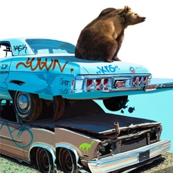 "Josh Keyes latest print, ""The Call I"" is now available through David B. Smith Gallery.  It's amazing, and movin' quick."