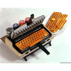 Chris Dimino - is making me desperately crave keyboard waffles this morning.