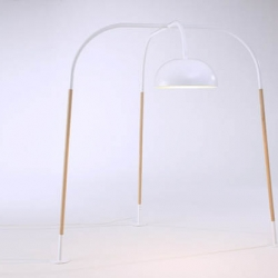 love the simplicity of this floor lamp by kilian schindler