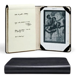 Moleskine's Kindle Cover ~ an official product inspired by all of the Moleskine hackers!