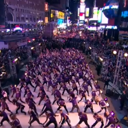 X-Box just launched the new Kinect with hundreds of synchronized dancers in Times Sq.