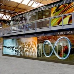 Kinetica is the UK's first museum dedicated to kinetic, electronic and experimental art. It opened in Old Spitalfields Market, London, on 6 October 2006.